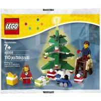 Lego 40058 Decorating The Tree Set 110 Pc Holiday