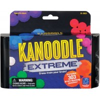 Educational Insights Kanoodle Extreme Brain Twisting 2D 3D Puzzle Game Teens Adults Featuring Over