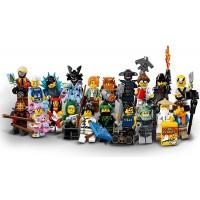 Lego Ninjago Movie Collectible Minifigures Complete Set Of 20 Minifigures Sealed
