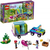 Lego Friends Mias Horse Trailer 41371 Building Kit With Mia And Emma Mini Dolls Includes Toy Truck
