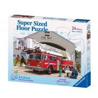 Fire Engine - 24 pc Floor Puzzle