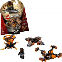 Lego Ninjago Spinjitzu Cole 70662 Building Kit 117