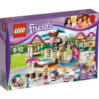 Lego Friends Girls Heartlake City Swimming Pool Minifigures