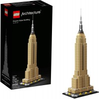 Lego Architecture Empire State Building 21046 New York City Skyline Architecture Model Kit For