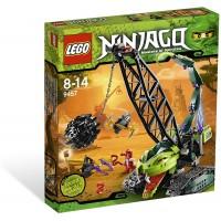 Lego Ninjago Set 9457 Fangpyre Wrecking