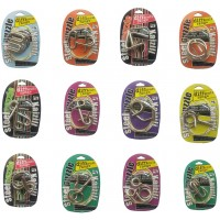 Assorted Metal Brain Teasers Metal Wire Iq Puzzles With Paper Box Gift Package Great Educational