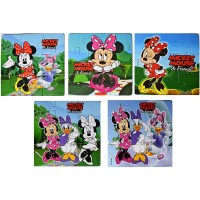 Myesha Toys Mini Mickey Mouse Friends Zigsaw Puzzle Pack Of 5 Total 45