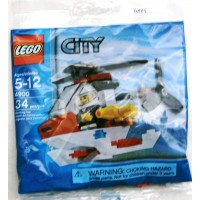 Lego City Mini Figure Set 4900 Fire Helicopter Bagged 34