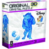 Bepuzzled Deluxe 3D Crystal Jigsaw Puzzle Prince Adam Disney Beauty The Beast Brain Teaser Fun