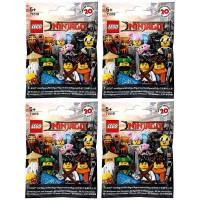 Lego The Ninjago Movie Minifigures Random Pack Of 4