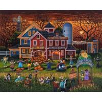 Dowdle Jigsaw Puzzle Scarecrow Festival 500
