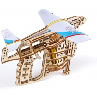 Ugears Mechanical Wooden 3D Puzzle Model Flight Starter