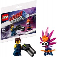 The Lego Movie 2 Minifigure Rex Dangervest With Blaster And