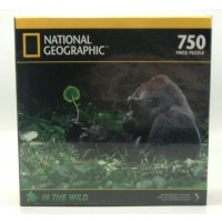 National Geographic In The Wild Jigsaw Puzzle Gorillas 750