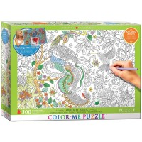 Eurographics Tropical Birds Color Me Puzzle 500