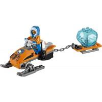 Lego City Arctic Snowmobile 60032 Building