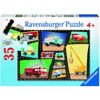 Ravensburger Tires Engines 35 Piece Jigsaw Puzzle Every Piece Is Unique Pieces Fit Together