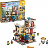 Lego Creator 3 In 1 Townhouse Pet Shop Caf 31097 Toy Store Building Set With Bank Town Playset With