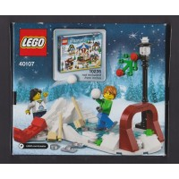 Lego 2014 Holiday Winter Skating Scene