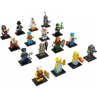 Lego Minifigures Series 9 Complete Set Of