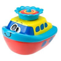 Fountain Float Spray Boat Tub Toy