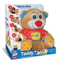 Teddy Interactive Bear Baby Music & Storytelling Toy
