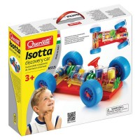 Quercetti Isotta Discovery Car Building Set