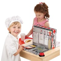 Pretend Diner Kids Restaurant Role Playing Set