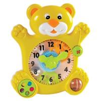 Toy Bear Time Teaching Clock
