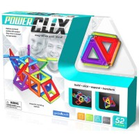 Power Clix 3D Magnetic 52 pc Building Kit