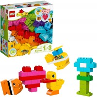 Lego Duplo My First Bricks 10848 Colorful Toys Building Kit For Toddler Play And Pretend Play 80
