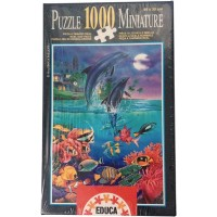 Miniature In The Moonlight 1000 Piece Mini Puzzle By