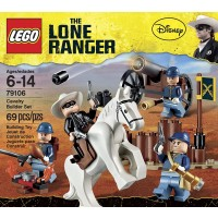 Lego The Lone Ranger Cavalry Builder Set