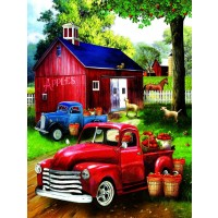 Apples For Sale 300 Pc Jigsaw Puzzle By