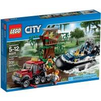 Lego City Hovercraft Arrest