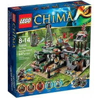 Lego Legends Of Chima Set 70014 The Croc Swamp