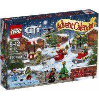 Lego City Town 60133 Advent Calendar Building Kit 290 Piece Discontinued By