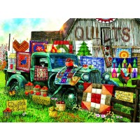 Quilts For Sale 1000 Piece Jigsaw Puzzle By