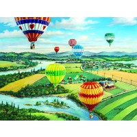 Ballooners Rally 500 Piece Jigsaw Puzzle By