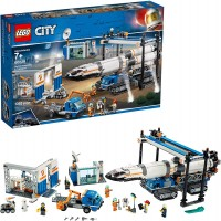 Lego City Rocket Assembly Transport 60229 Building Kit 1055