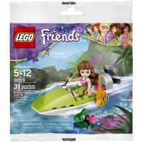 Lego Friends Jungle Air Boat With Olivia Bagged