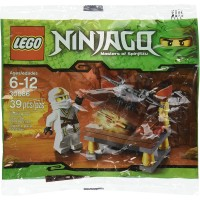 Lego Ninjago Minifigure Set Hidden Sword With Zane Zx
