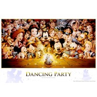 Tenyo D284 Disney Dancing Party Jigsaw Puzzle 300