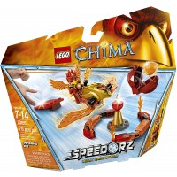 Lego Chima 70155 Inferno Pit Building