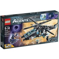 Lego Ultra Agents Ultracopter Vs Antimatter