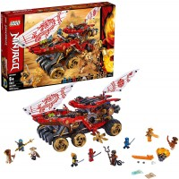 Lego Ninjago Land Bounty 70677 Toy Truck Building Set With Ninja Minifigures Popular Action Toy