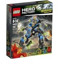 Lego Hero Factory Surge And Rocka Combat Machine 44028 Building