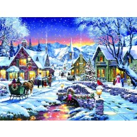 Tinsel Town 300 Pc Jigsaw Puzzle By Sunsout Christmas