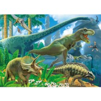 Brainy Zebra Planet Of The Dinosaurs Instructive Jigsaw Puzzle For Children Fun Entertaining Toys