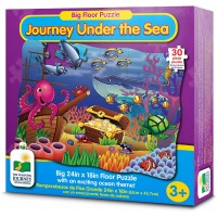 The Learning Journey Big Floor Puzzles Under Sea